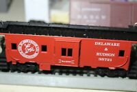 "DELAWARE & HUDSON 37""BAY WINDOW Caboose HO BUILT RTR ATHEARN SESQUICENTENNIAL"
