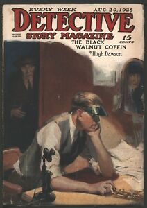 Detective Story 1925 August 29.    Pulp