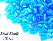 ☀️Lego 1x1 TRANS-BLUE Cone Round x100 Stud Part Piece Bulk Lot Legos # 4589b