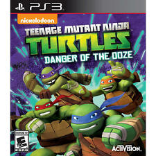 Teenage Mutant Ninja Turtles: Danger of the Ooze (Sony PlayStation 3, 2014) PS3
