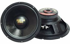 """NEW (2) 12"""" Woofer Speakers.Home.Car Audio Sound PAIR.inch.8 ohm.PA.DJ.subwoofer"""
