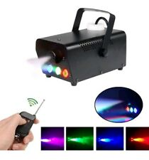 Fog Machine Wireless Remote Control Smoke Machine with RGB Color LED Light...