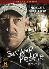 Swamp People 3rd Third Complete 3 Three DVD Set Collection Series TV History Cha