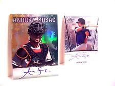 Andrew Susac 2011 Leaf Metal Draft Valiant LOT Auto Rookie Autograph  FREE SHIP