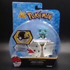 "Bounce Pokeball with Pokemon figure toys Froakie 2"" poke ball toy TOMY"