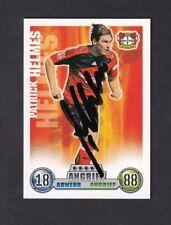 Patrick Helmes  .. Bayer Leverkusen .. Signierte Match Attax  Sammelkarte