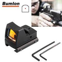 Mini RMR Red Dot Sight Reflex Sight Scope fit 20mm Weaver Rail for Glock