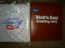 Pillsbury Doughboy Advertising Lot #6~ Set of 2 ~ 3 ring binders