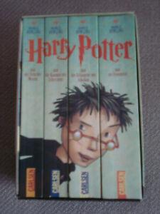 Konvolut Bücher Harry Potter Band 1-4 Taschenbücher im Schuber / Sammlung
