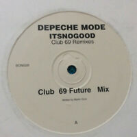 "Depeche Mode ‎– It's No Good-Club 69 Mixes  UK 1997 Vinyl 12"" Promo  Mint UNPLYD"