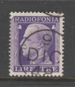 Italy revenue fiscal stamp 3-5-21 as seen- better item - radio License?  3? Lire