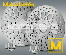 11.8 HARLEY FRONT ROTOR MESH SET W/ BOLTS FOR TOURING BAGGER MODELS 2008 ABOVE
