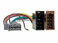 PANASONIC Radio Adapter Kabel CQ DFX HR RX HX RDP DP VCD C MX ISO Stecker Auto