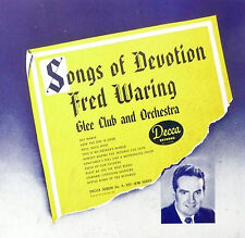 78 rpm album 5 records N- /album N-    FRED WARING - SONGS OF DEVOTION