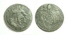 pci2973) Stato Pontificio Pio VI (1775_1799) Scudo Romano 1780 A VI
