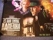 """Movie poster 1st German release: 65"""" x26""""  ONCE UPON A TIME IN AMERICA, 1984 !!!"""