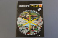 X005 FALLER Train catalogue maquette Ho N 1969 70 48 pg 29,7*21 F avion circuit