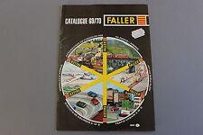 X005 FALLER Train catalogue maquette Ho N 1969 70 48 pg 29,7*21 F avion circuit