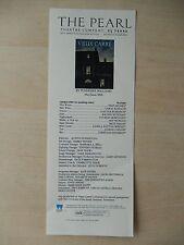 May/June 2009 - Theatre 80 Theatre Playbill - Vieux Carre - Carol Shultz