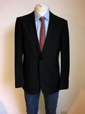 Nahezu Ungetragener Drykorn Sakko Blazer Schwarz black Größe 48 Classy