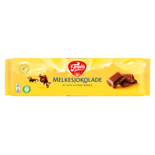 Milk Chocolate Freia Melkesjokolade 60g Bar Free Shipping Worldwide