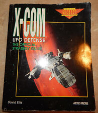 X-Com UFO Defense The Official Strategy Guide David Ellis 1994 Micro Prose