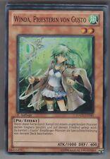 YU-GI-OH Winda Priesterin von Gusto Super Rare HA05-DE040