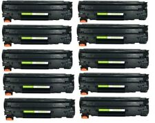 10 Pack CE285A Toner Cartridges For HP 85A LaserJet Pro P1102W M1212NF M1217NFW