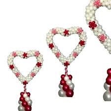 Ballon Coeur cadre vente mariage, shop display, restaurant. 90cm et 15 cm polonais