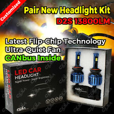D2S 13800LM LED CAR HEADLIGHT HIGH LOW BEAM VEHICLE REPLACE HALOGEN XENON