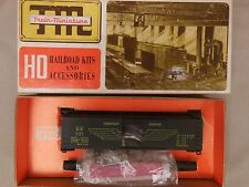 "HO SCALE TRAIN MINIATURE SOUTHERN PACIFIC ""OVERNIGHT"" 40' WOOD BOX CAR KIT"