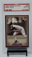 2003 Fleer Showcase #64 Yankees DEREK JETER Baseball Card PSA 9 MINT - Pop 2 !!