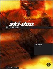 2003 Ski-Doo ZX ( Grand Touring Legend MX Z Scandic Summit ) Service Manual CD