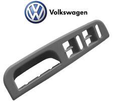 Volkswagen Passat Jetta Golf Front Driver Left Grey Trim Switch Bezel Genuine