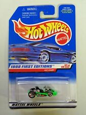 Hot Wheels First Editions Go Kart #651 NIP 1998 Bright Green