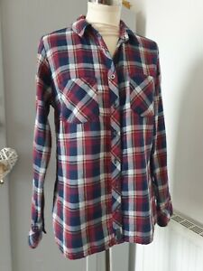 Ladies Country Rose Checked Shirt Size 10