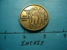 THREE SERVICEMEN STATUE NRA NATIONAL RIFE ASSOCIATION SERIES BRONZE COIN NICE X5