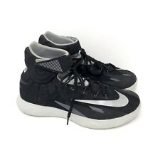 reputable site e0d88 0d458 Nike Zoom HyperRev Basketball Shoes Mens 8 630913-003 Black Silver Kyrie EUC