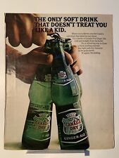 1966 Canada Dry Ginger Ale - GM Delco Energizer - Magazine Ad