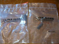 NEW LOT of 2  Pan Pacific RF Coaxial SMA 50 Ohm Connector  # SMA-2517N