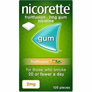 NICORETTE FruitFusion 2mg Gum 105 Pieces
