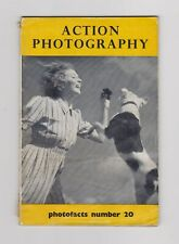 """Vintage Photofacts Booklet – Number 20 – """"Action Photography"""" - 1950"""