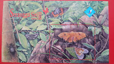 2007 Malaysia Overprinted Miniature Sheet - Insects Series 3