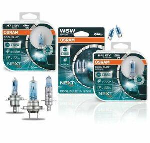 Osram Cool Blue Intense Next Generation 100% H1 H4 H7 H8 H11 W5W Duo Set weiß