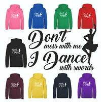 Highland Irish Scottish Celtic Dance Funny Slogan Sword Dancer Hoodie Sweatshirt