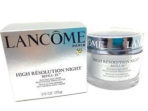 Lancôme HIGH RÉSOLUTION NIGHT REFILL-3 NIGHT CREAM 2.6oz