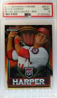 2011 Topps Bowman Chrome Retail Exclusive Red Bryce Harper Rookie RC #BCE1 PSA 9