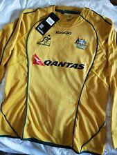 Brand New Wallabies Mens Australia Replica Rugby Union Jersey, Sz Large