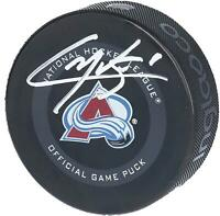 Cale Makar Colorado Avalanche Autographed 2019 Model Official Game Puck