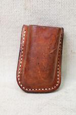 Milt Sparks Brown Leather OWB RH LH Magazine Pouch Holder Colt S&W Kimber Glock